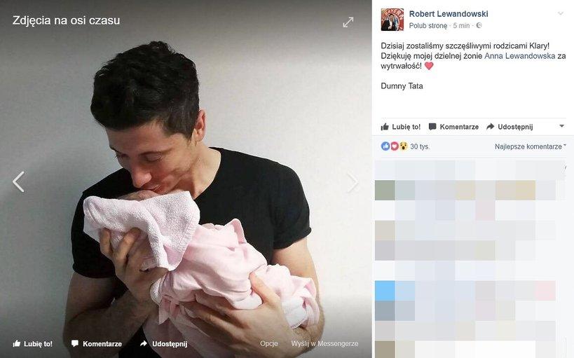 Anna Lewandowska urodziła dziecko