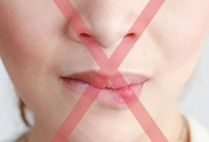 Oblizywanie ust