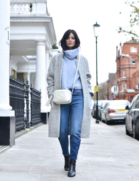 sweter styl skandynawski