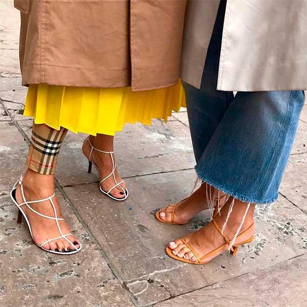 modne sandaly 2019 na obcasie