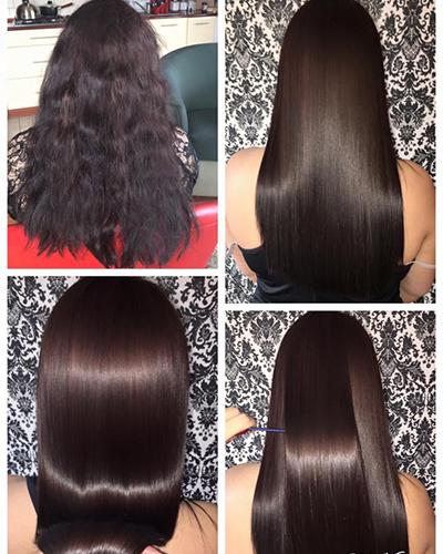 botoks na włosy przykłady