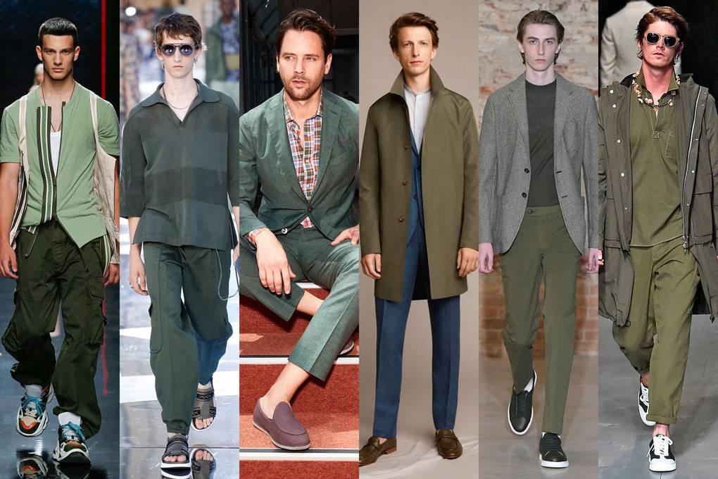 moda męska na lato 2019