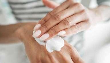 sucha skóra dłoni