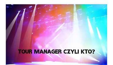 tour manager